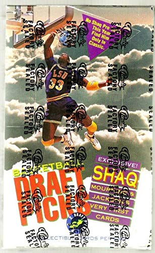 1992-93 Classic Draft Picks Basketball Box