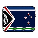 Flag Of New Zealand Laptop Sleeve Egiant Waterproof Protective Fabric Notebook Bag Case 15 Inch