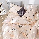 HIGHBUY 100% Cotton Cinnamoroll Print Pillowcases