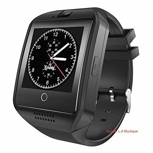 Amazon.com: Smart Watch with Camera, Q18 Bluetooth ...