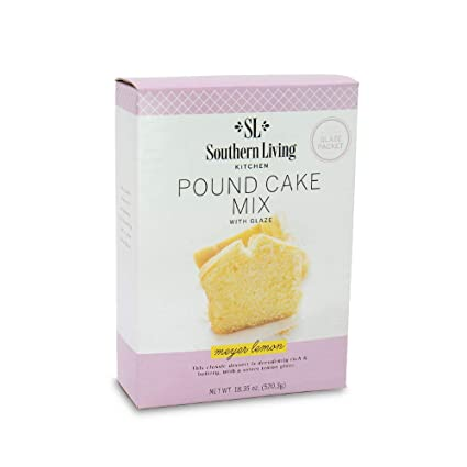 Amazon Com Gourmet Pound Cake Mix Meyer Lemon Pound Cake Mix