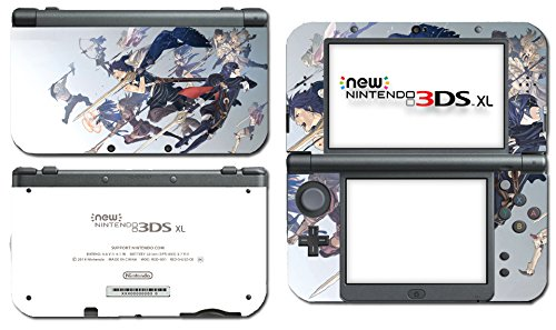 Fire Emblem Marth Roy Awakening Smash Bros Video Game Vinyl Decal Skin Sticker Cover for the New Nintendo 3DS XL LL 2015 System Console Protector