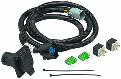 amazon com tow ready 20131 4 flat to 7 way oem connector automotive