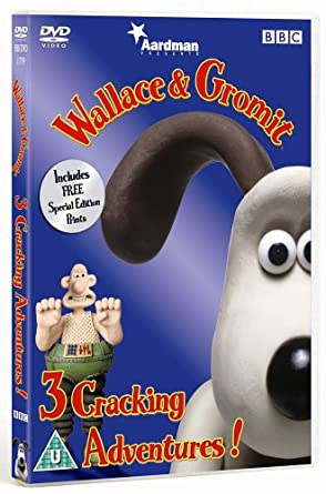 b41e57e6d432 Wallace And Gromit  Three Cracking Adventures DVD  Amazon.co.uk ...