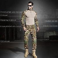CedarAct uniforme militar G3 Multicamo Airsoft camisa con codo y ...