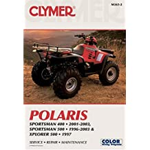 Polaris: Sportsman 400, 2001-2003; Sportsman 500, 1996-2003; Xplorer 500, 1997