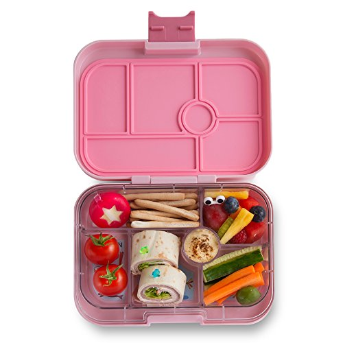 YUMBOX Original (Hollywood Pink) Leakproof Bento Lunch Box Container for Kids: Bento-style lunch box offers Durable, Leak-proof, On-the-go Meal and Snack Packing by Yumbox