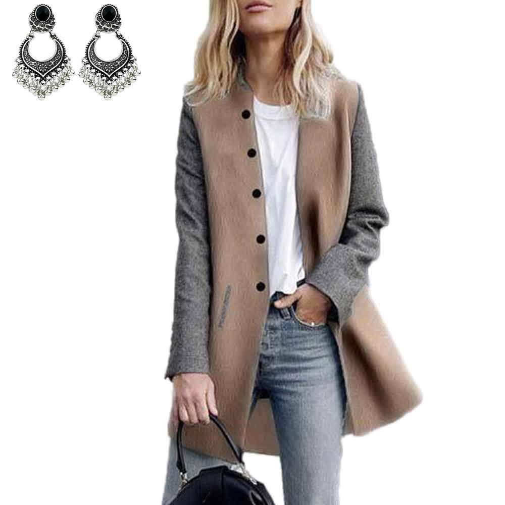 Styledresser Donna Casuale Lungo Manica Cardigan Giacca Signora Cappotto Saltatore Maglieria Giacche 20.46