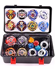Bey Battling Top Burst Launcher Grip Set Storage Box 12 Spinning Top Burst Gyros 3 Launchers Great Birthday Present for Boys Children Kids