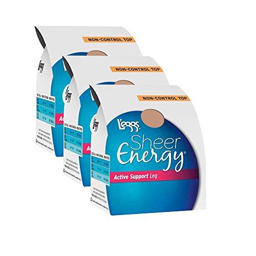 L'eggs Sheer Energy Active Support Regular Panty ST