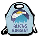 Dianqusha Aliens Eggsist Women's Lunch Bag