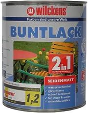 Wilckens 2in1 gekleurde lak zijdemat, RAL 9001 crèmewit, 750 ml 12490100050