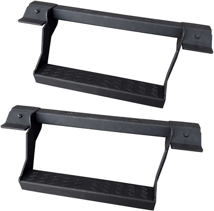 Allied Expedition 15000 Black Jeep Step JK Rubicon 07-18 Classic