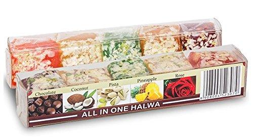 - Halwa - All in One Halwa - Chocolate, Coconut, Pista, Pineapple, Rose 250g