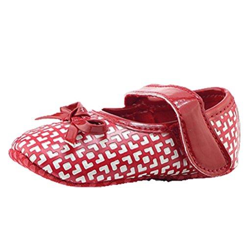 OHmais Kinder Baby Jungen Baby Mädchen Baby Kleinkind Schuh Rot