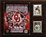 NCAA Football Oklahoma Sooners Tide All-Time Greats Photo Plaque