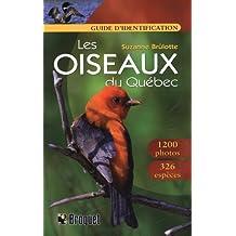 Les oiseaux du Québec guide identification