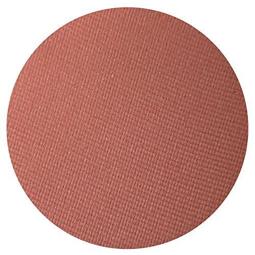 (Cayenne Matte Pearl Eyeshadow Single Eye Shadow Makeup Magnetic Refill Pan 26mm, Paraben Free, Gluten Free, Made in the)