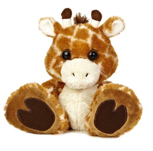 Aurora World Taddle Toes Safari Giraffe Plush, 10