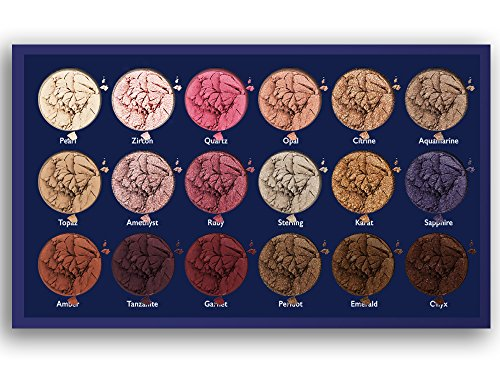 18 Super Pigmented – Top Influencer Professional Eyeshadow Palette all finishes, 5 Matte + 9 Shimmer + 4 Duochrome…
