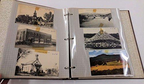 (2 Scrapbooks 1950's South Dakota Maine Canada Roadmaps Photos Postcards J68630)