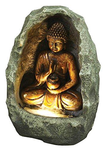 Hi-Line Gift Ltd Golden Buddha Fountain ()
