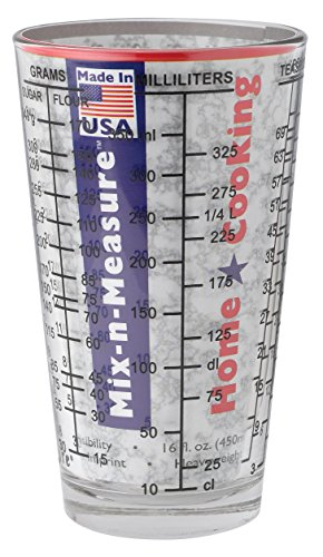 2 Cup Mix N Measure Glass Measuring Clear product image