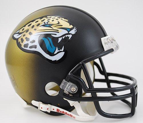 Riddell NFL Jacksonville Jaguars 2013 to 2017 Mini Replica Throwback Helmet