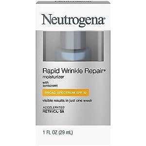 Neutrogena Rapid Wrinkle Repair Moisturizer, SPF 30, 1 oz (Pack of 3)