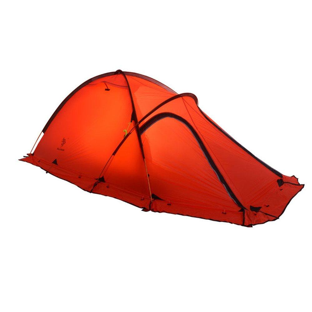 2人キャンプテント4シーズンアルパインコートシリコンテントは屋外スポーツのために赤色で組み立てる必要があります B07C1ZZJYX, バレイビレッジ:7c7ae4e7 --- ijpba.info