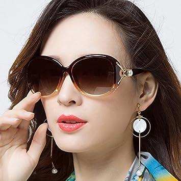 Sunyan El Nuevo y Elegante Gafas de Sol de Alto Brillo Cara ...