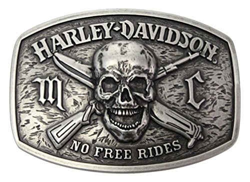 Harley Davidson Antique Buckle Silver HDMBU10860