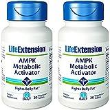 Leben Extension AMPK Metabolic Activator, 30 Vegetarian Tablets (2 Pack)