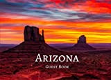 Arizona Guest Book: Sunset, Vacation Guest Book to Sign In, Airbnb, Guest House, Hotel, Bed and Breakfast, Lake House, Cabin (Elite Guest Book)