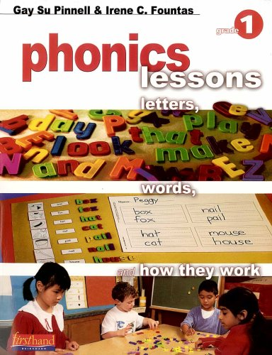 Phonics Lessons: Letters, Words, and How They Work (Grade (Comfortable Letters)