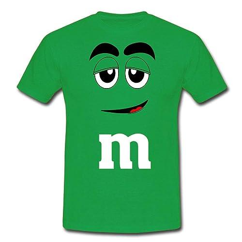 offerte esclusive ben noto spedizione gratuita T-shirt uomo M&M, divertente, faccia m&m's, funny m&m's face ...