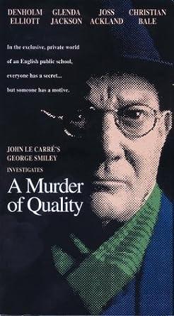 A Murder of Quality [USA] [VHS]: Amazon.es: Denholm Elliott ...