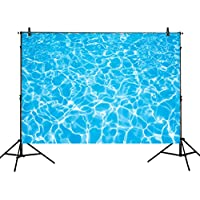 Allenjoy 7x5ft photography backdrops party summer swimming pool water ripple Birthday banner photo studio booth background newborn baby shower photocall
