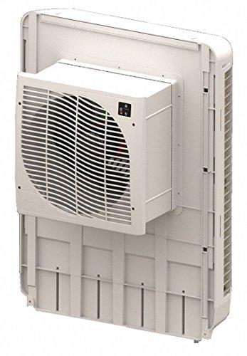MASTERCOOL 3200 cfm Direct-Drive Window Evaporative Cooler, Covers 1000 sq. - Cooler Drive Evaporative