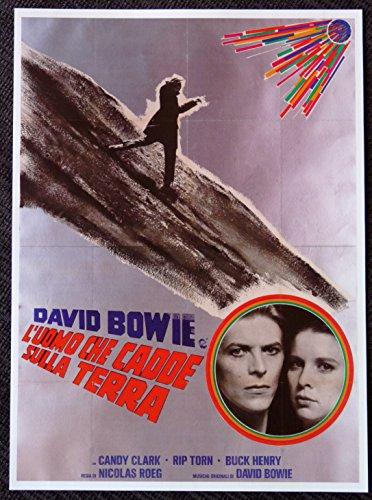 David Bowie - L'uomo Che Cadde Sulla Terra - Rare Advertising Poster
