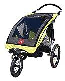 Allen Sports JTX-1 Trailer Swivel Wheel Jogger - Green