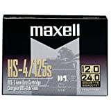 Maxell 4mm DDS-3 Tape Cartridge -DDS-3 -12 GB (Native)/24 GB (Compressed) -393.70 ft Tape Length -1 Pack