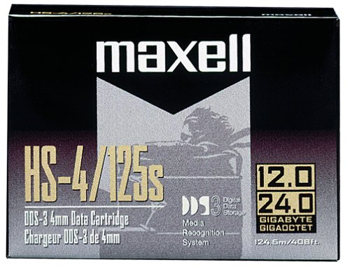 Maxell DDS3 12GB 24GB 4 mm Digita Data Cartridge