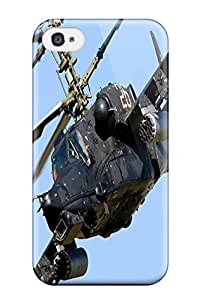 High Quality Helicopter Kamov Attack Russia War Star Case For Iphone 4/4s / Perfect Case