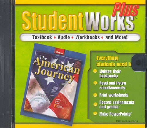 The American Journey, StudentWorks Plus CD-ROM (THE AMERICAN JOURNEY (SURVEY))