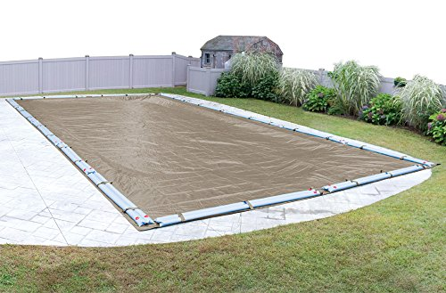 Pool Mate 572040R Sandstone Winter Pool Cover for In-Ground Swimming Pools, 20 x 40-ft. In-Ground Pool