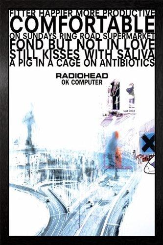 Radiohead - Ok Computer Framed Poster