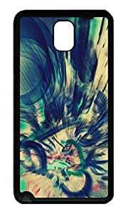 Custom Designed Abstraction [Perfect Fit] TPU Crystal Clear [Scratch Resistant] Back Case Cover for Samsung Galaxy Note 3 N9000 Cases ka ka case