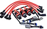 Aftermarket 2004-2011 10MM WIRES MAZDA RX-8 RX8 ADAPTER WIRING HARNESS CORVETTE COIL PACKS
