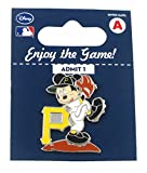MLB Pittsburgh Pirates Disney Mickey Wind Up Collectible Trading Pin